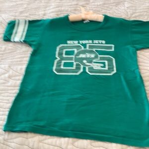Jets T Shirt from the 80s 100 percent cotton